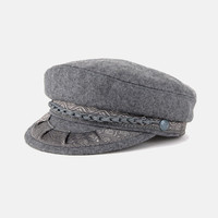 Grey Days Greek Fisherman's Cap