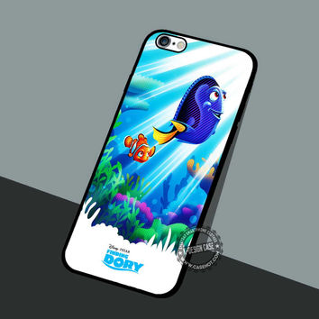 Dory And Nemo Poster - iPhone 7 6 5 SE Cases & Covers