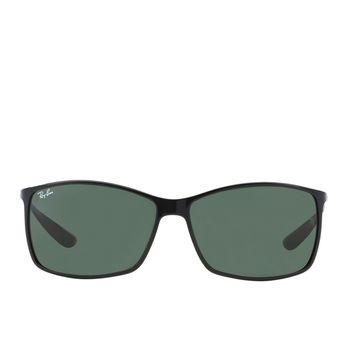 Ray-ban Liteforce Polarised Mens Sunglasses - Matte Black ~ Dark Green All Sizes