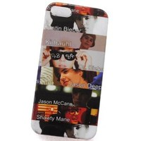 Huaqiang3c New Design 1 Apple iPhone 5 5G Justin Bieber Belieber Pattern Snap-on Crystal Hard Case Cover