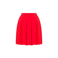Miu Miu - Skirts - Laquer Red - United States - MG972_4KT_F0D17