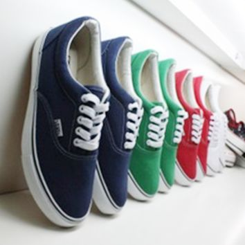 Vans Canvas couple Classics Old Skool Sneaker six color