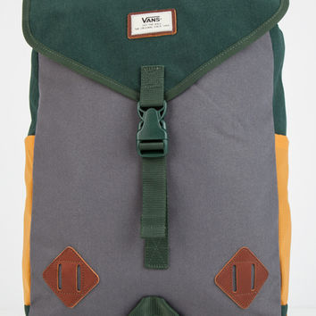 Vans Nelson Backpack Olive One Size For Men 26570153101