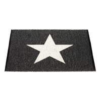 Viggo one small rug black from Pappelina by Lina Rickardsson