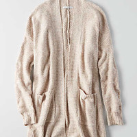 AEO Open Front Cardigan , Cream