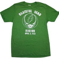 Grateful Dead Boston Mens T-shirt