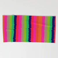 Eva stripe Beach Towel by Aimee St Hill