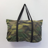 One of a Kind Camo Tote by Blim
