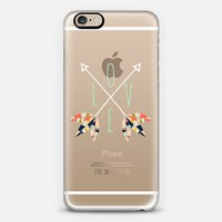 Love + Arrows and Feathers iPhone 6 case by Amanda Coakley | Casetify