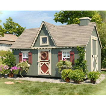 Little Cottage Company Victorian Playhouse Kit with No Floor