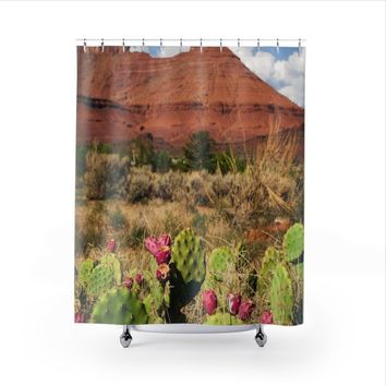 Utah Desert Shower Curtain