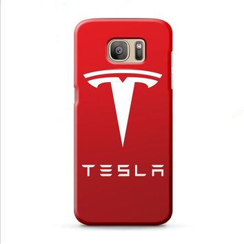 New Tesla Motors Logo Samsung Galaxy J7 2015 | J7 2016 | J7 2017 case