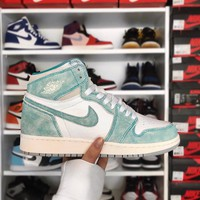 "Air Jordan 1 ""Turbo Green""AJ1 Sneaker"