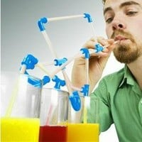 Crazy Straw for Party by goodbuy on Zibbet