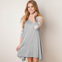 New Fashion Summer Sexy Women Mini Dress Casual Dress for Party and Date = 4662207236