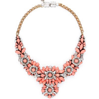 Shourouk Apolonia Capucine Necklace - Bib Necklace - ShopBAZAAR