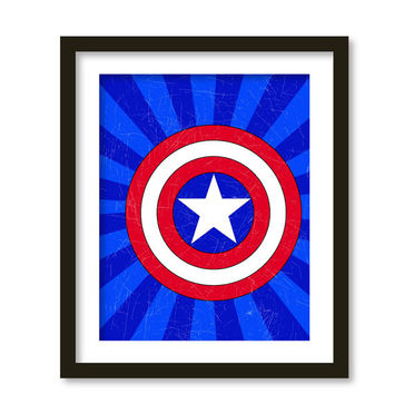 Super hero art, kids wall art, boys room decor , green lantern, superheroes logos,
