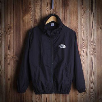 """""""THE NORTH FACE""""Couple Unisex Print Zip Hooded Cardigan Jacket"""