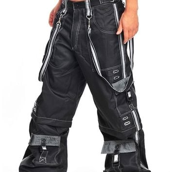 Amok Reflective Stash Pants : Ravers Clothing Wide and Phat Pants