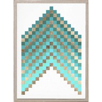 Natural Curiosities for Candelabra Pixel Chevron - 2 | Candelabra, Inc.