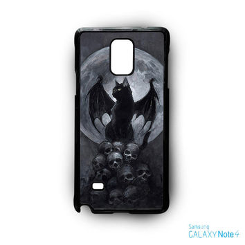 Horror Con the BatCat for Samsung Samsung Galaxy Note 2/Note 3/Note 4/Note 5/Note Edge phonecases