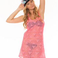 SUMMER NIRVANA DRESS - PINK