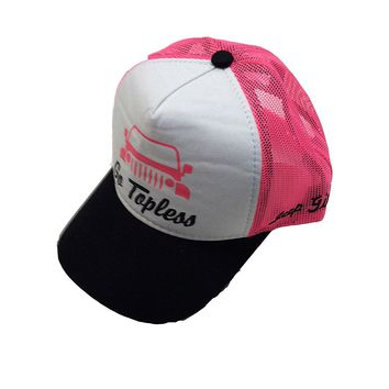 Jeep Girl Trucker Mesh Back Cap