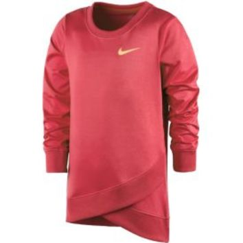 Nike Toddler Girls' Dri-FIT Crossover Long-Sleeved Sweatshirt | DICK'S Sporting Goods