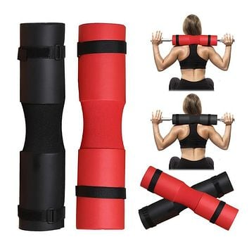 Foam Barbell Pad Cover Squat Pad For Gym Weight Lifting Cushioned Shoulder Back Support Neck Shoulder Protective Pad