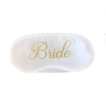 Bride Blindfold Sleep Mask