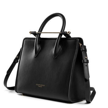 Midi Tote - Black – Strathberry of Scotland