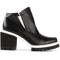 Jamie Wei Huang chunky heel ridged sole boots