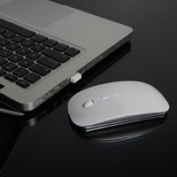 TopCase White USB Optical Wireless Mouse
