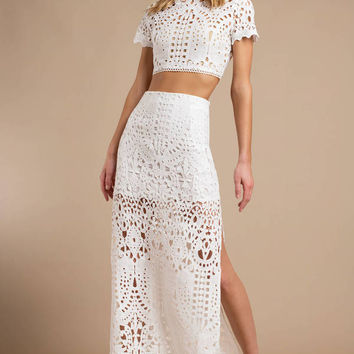 Alice Lace Crop Top