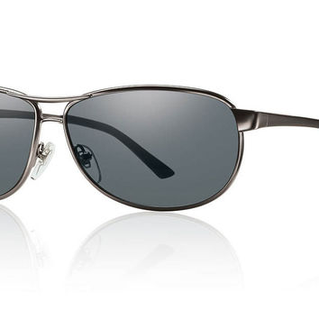 Smith - Gray Man Tactical Matte Gunmetal Sunglasses, Gray Mil-Spec Lenses