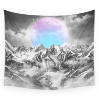 Society6 It Seemed To Chase The Darkness Away II Wall Tapestry