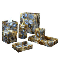 Taj Agate Bath Collection by Mike + Ally