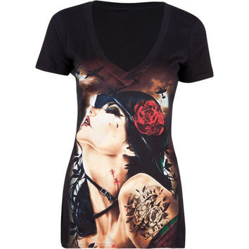 INFAMOUS x Brian Viveros Scorpio Rizing Womens Tee 198184100 | Graphic Tees & Tanks | Tillys.com