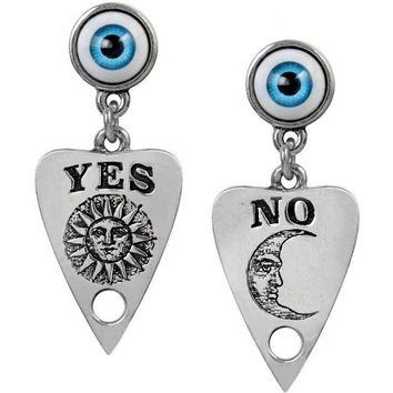 """Ouija Planchette"" Earrings by Alchemy of England"