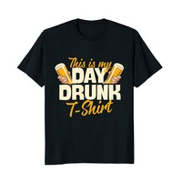 This Is My Day Drunk T-Shirt Funny Beer T-Shirt