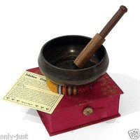 Buddha Mandala Singing Bowl Set: