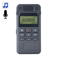 BY000 8GB Digital Voice Recorder Dictaphone MP3 Player, Support LIN-IN Recording and Telephone Recording