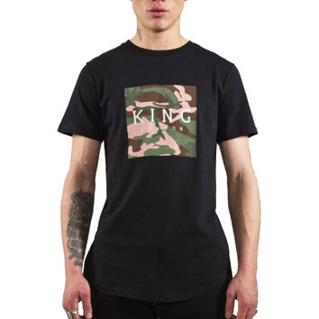 King Apparel - Select Camo T-Shirt - Black