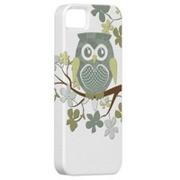 Polka Dot Owl in Tree Case iPhone 5 Covers from Zazzle.com