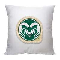 Colorado State Rams NCAA Team Letterman Pillow (18x18)