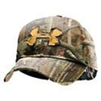 Under Armour Men's Camo Alpine Adjustable Cap