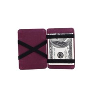 Mini Neutral Grind Magic Bifold Leather Wallet Card Holder Wallet Purse