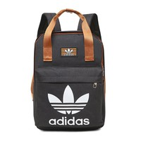 DCCK2 229 Adidas backpack recreational sports backpack Student Backpack outdoor travel bag Black