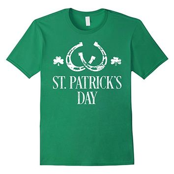 St Patricks Day Shirts Shamrock And Horseshoes