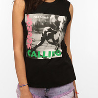 The Clash London Calling Muscle Tee